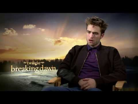 Twilight Breaking Dawn Part 2 Interviews - Robert Pattinson, Taylor Lautner & Kristen Stewart