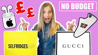 NO BUDGET Shopping Haul | GUCCI & APPLE STORE | Rosie McClelland