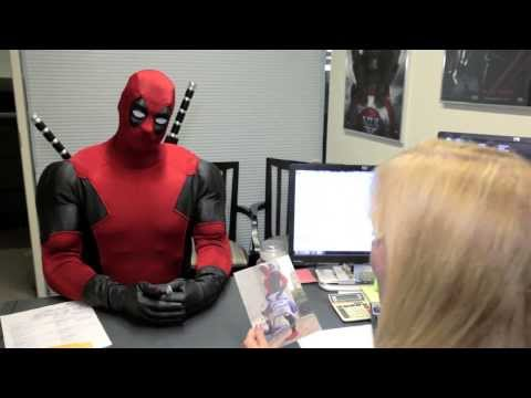 Deadpool visits Marvel HQ - HR Department | HD