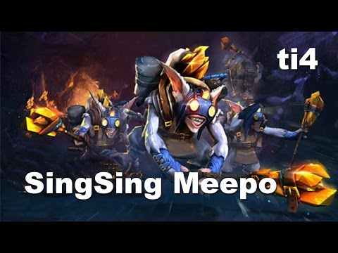 SingSing Meepo - C9 vs VG ti4 FIGHT Dota 2