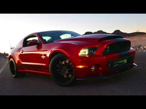 Ford Mustang Shelby GT500 Super Snake - Walkaround - 2013 LA Auto