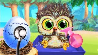 Animal Hatching Care - Clean Up Baby Animals & Style Hair - Play Pet Makeover Games