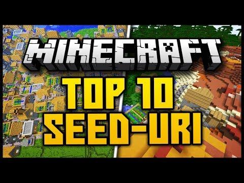 TOP 10 SEED-URI GENIALE PENTRU MINECRAFT 1.12