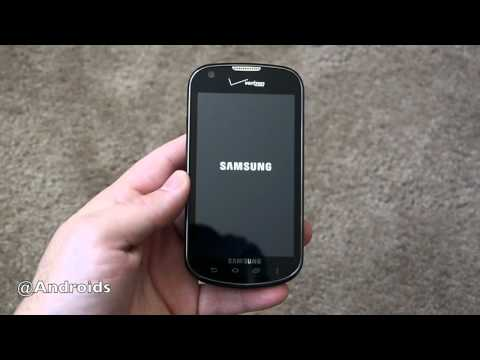 Samsung Galaxy Stellar video review for Android Community