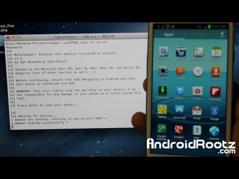 How to Root Galaxy S3 on Mac OSX/Linux/Ubuntu! [Jelly Bean] U.S./Canadian