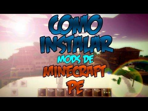 Minecraft PE: Como descargar e instalar mods en Minecraft Pocket Edition