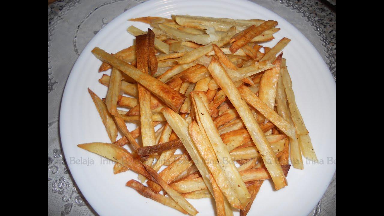 Приготовить картофель фри в домашних условиях