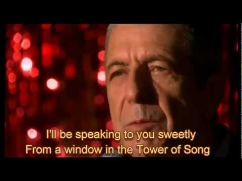 Leonard Cohen & U2 -Tower of Song with Lyrics - HQ