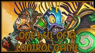 Hearthstone: One hell of a control game (jade shaman)