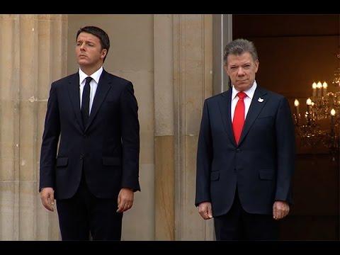 Visita oficial del Primer Ministro de Italia, Matteo Renzi  - 27 de octubre de 2015