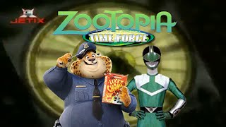 Zootopia Time Force - Opening (Zootopia opening as Power Rangers Time Force)