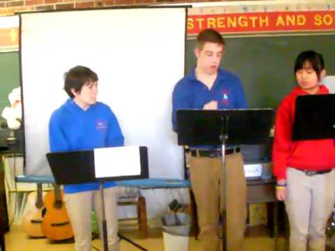 reader theater- spongebob- band greeks  (hendersonville christian school)