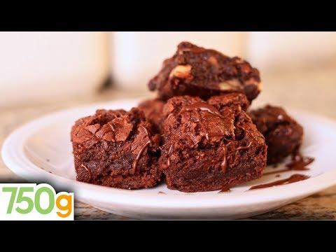 Recette de Brownie aux noix de pécan - 750 Grammes