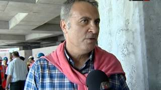 Başkan Fikret Orman Vodafone Arena'ya Ziyarette Bulundu