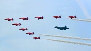 BEST AIRSHOW COMPILATION EVER!?! | CHEROKEE MEDIA | Red Arrows, Raptor, Tucker, Blue Angels