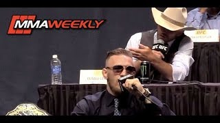 Conor McGregor vs Cowboy Cerrone: 'Take Your Little English A## and Get On' (UFC Flashback)