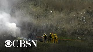 Investigators probe helicopter crash that killed 9, including Kobe Bryant