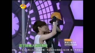 [ENG SUB] 4/5 EXO-M @ Happy Camp 120609