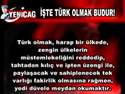MHP - Milliyetçi Hareket Partisi 2015 - TÜRK OLMAK !