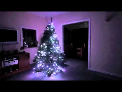 Christmas tree light show Stella-green powered by E16-II and MADRIX