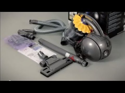Dyson DC37 and DC39 with Musclehead™ floor tool - Getting started (Official Dyson video)