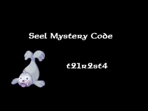 Pokemon Tower Defense Seel Mystery Gift Code(PTD 5.9.1)