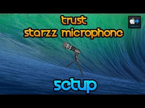 Trust Starzz Microphone | Setup