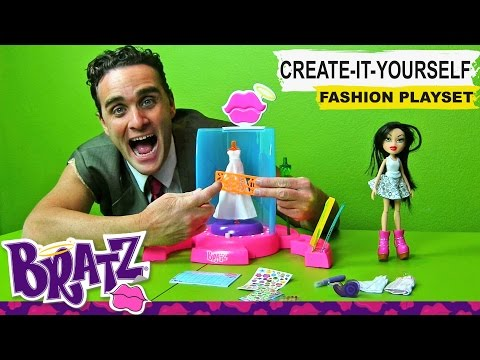 Bratz  Create it Yourself Fashion Playset !    Toy Reviews    Konas2002