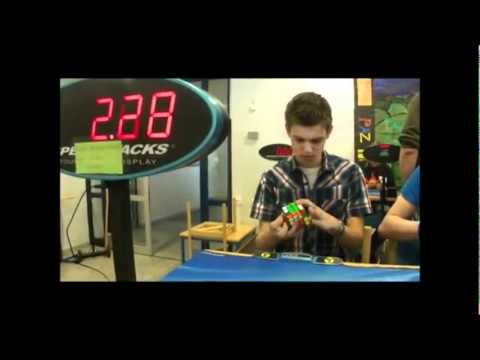 World Record Rubik's Cube