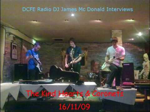 DCFE Radio Interview The Kind Hearts & Coronets Front Man Martin Madden