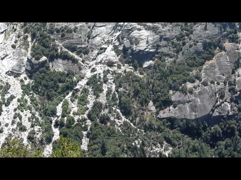 Rockfall area below Ahwiyah Point 110818 Video