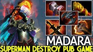 Madara [Phantom Assassin] Superman Build Destroy Pub Game 7.21 Dota 2