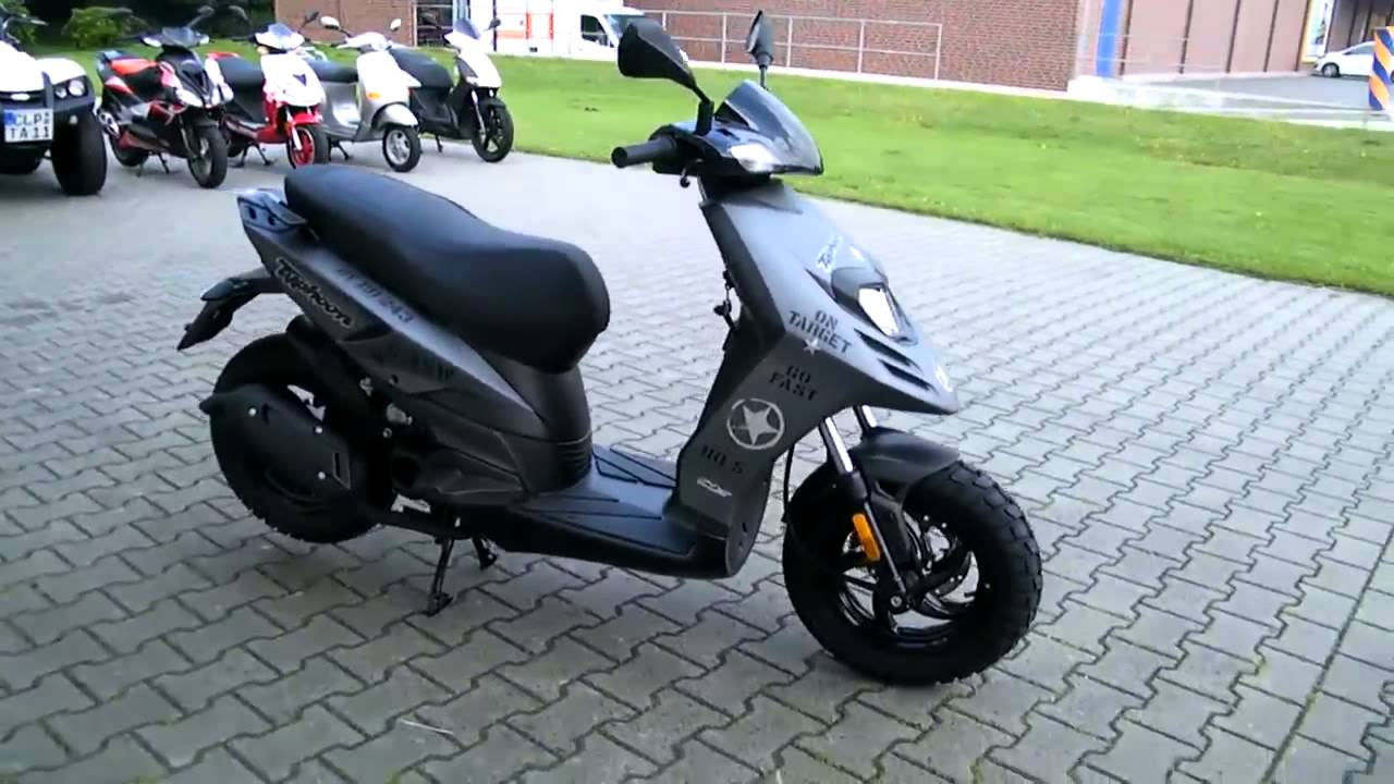 piaggio tph 50 11 roller scooter grau 2011 youtube. Black Bedroom Furniture Sets. Home Design Ideas