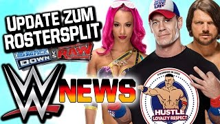 Update zum Rostersplit SmackDown! vs. RAW, Sasha Banks Update | WWE NEWS 45/2016
