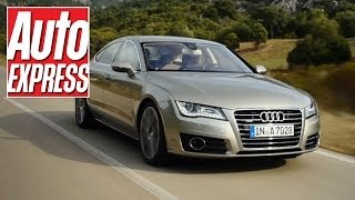 Audi A7 review - can it match rivals from BMW and Mercedes?