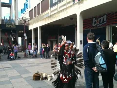Indian Dancers in Blackpool