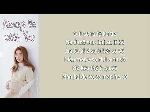 [Phiên âm Tiếng Việt] Always Be With You - Baek A Yeon (Encounter OST Part.7)