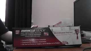 Miracle blade messenset unboxing/uitpaksessie