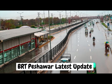 BRT Peshawar Latest Updates about How To Use Bus Station