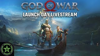 Achievement Hunter Live Stream - God Of War