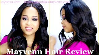 Mayvenn Hair Review ✿ Mayvenn Peruvian Straight Review ✿ Mayvenn Lace Closure ✿ Kimmy Boutiki