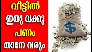 വീട്ടിൽ ഇത് വച്ചാൽ പണം താനേ വരും   Malayalam Health Tips