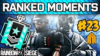 RAINBOW SIX SIEGE RANKED MOMENTS #23 - Diamond Ranked Squad - Velvet Shell