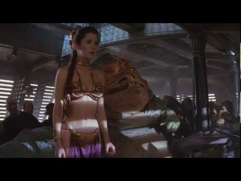 Did Jabba the Hutt Do Princess Leia?