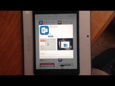 Outlook on iPad