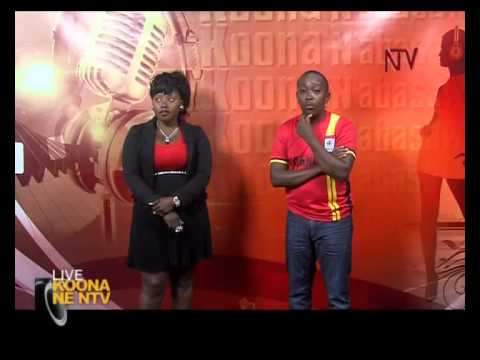 Josephine hosted on Koona Ne NTV with Miles Rwamiti