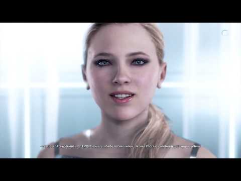 Detroit : Become Human ps4 pro Gaming live
