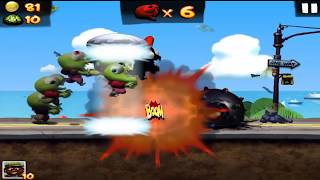 Game Zombie Tsunami Very cute funny game with many baby small zombie  How to play