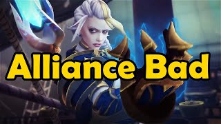 Alliance Bad - (All Events of the Alliance Aggression in WoW Lore)
