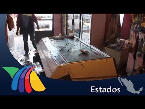 Tromba deja daños en 7 autos en Tepeji del Río | Noticias de Hidalgo